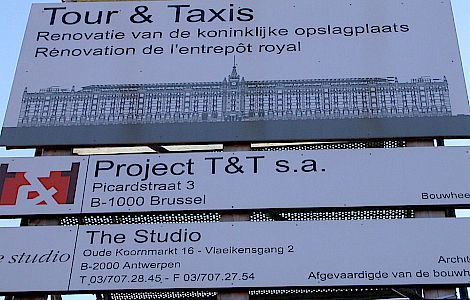 referentie Tour&Taxi - Parket - Brussel
