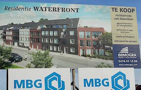 Afbeelding voor Waterfront 1 Gentbrugge Parket De Pauw in Private Label Details referentie Waterfront 1 Gentbrugge 3